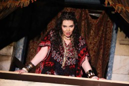 Rachel Croash, Soprano – Elvira L'Italiana in Algeri – Blackwater Valley Opera Festival, 2018 – Photo Frances Marshall