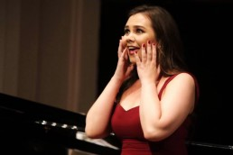 Rachel Croash, Soprano – In Recital – John Field Room in the National Concert Hall, 2017 – Photo Frances Marshall