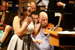 Rachel Croash, Soprano – In Concert with the RTÉ National Symphony Orchestra – National Concert Hall, 2016 – Photo Frances Marshall