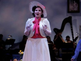 Rachel Croash, Soprano – Miss Wordsworth in Albert Herring, RIAM 2014 - Photo Colm Hogan