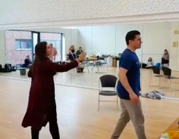 Rachel Croash, Soprano – Rehearsal as Mabel in The Pirates of Penzance with Brian Gilligan as Frederic – Lyric Opera Productions, 2018