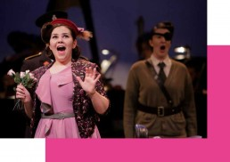 Rachel Croash, Soprano – Miss Wordsworth in Albert Herring – RIAM 2014 – Photo Colm Hogan